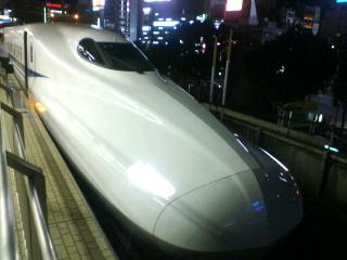 N700初乗車