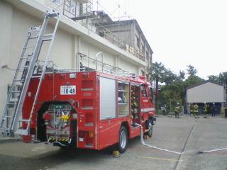 消防署で救命講習